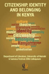 Omslag - Citizenship, Identity and Belonging in Kenya