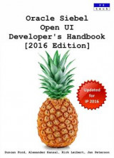 Omslag - Oracle Siebel Open Ui Developer's Handbook [2016 Edition]