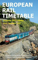 Omslag - European Rail Timetable Summer 2017: June - December 2017
