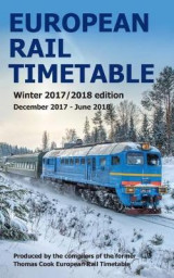 Omslag - European Rail Timetable Winter 2017-2018 Edition
