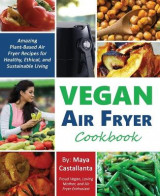 Omslag - Vegan Air Fryer Cookbook