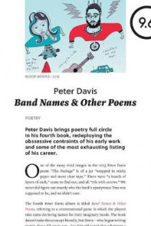 Band Names & Other Poems av Peter Davis (Heftet)