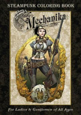 Omslag - Lady Mechanika Steampunk Coloring Book