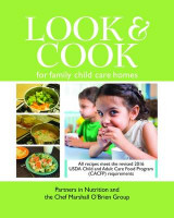 Omslag - Look & Cook for Family Child Care Homes