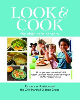 Omslag - Look & Cook for Child Care Centers