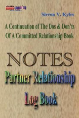 Omslag - Notes Partners Relationship Log Book