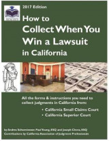 Omslag - How to Collect When You Win a Lawsuit in California