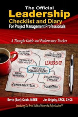 Omslag - The Official Leadership Checklist and Diary for Project Management Professionals