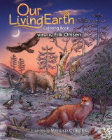 Omslag - Our Living Earth Coloring Book