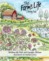 Omslag - This Farm's Life Adult Coloring Book