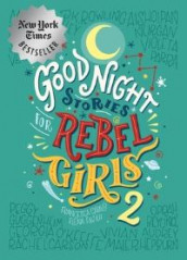 Good Night Stories For Rebel Girls 2 av Francesca Cavallo og Elena Favilli (Innbundet)