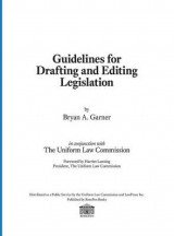 Omslag - Guidelines for Drafting and Editing Legislation