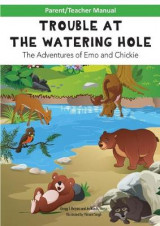 Omslag - Parent/Teacher Manual for Trouble at the Watering Hole Children's Book