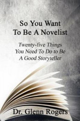 Omslag - So You Want to Be a Novelist