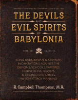 Omslag - The Devils and Evil Spirits of Babylonia