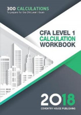 Omslag - Cfa Level 1 Calculation Workbook