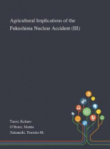 Omslag - Agricultural Implications of the Fukushima Nuclear Accident (III)