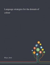 Omslag - Language Strategies for the Domain of Colour