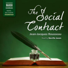 The Social Contract av Jean-Jacques Rousseau (Lydbok-CD)