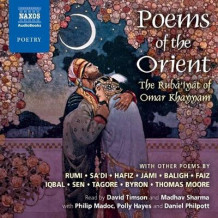 Poems of the Orient av Omar Khayyam, Rumi, Hafiz og Rabindranath Tagore (Lydbok-CD)