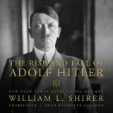 Omslag - The Rise and Fall of Adolf Hitler