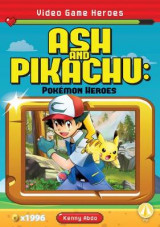 Omslag - Ash and Pikachu: Pokemon Heroes