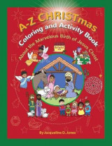 Omslag - A to Z CHRISTmas Coloring and Activity Book