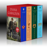 Omslag - Outlander 4-Copy Boxed Set