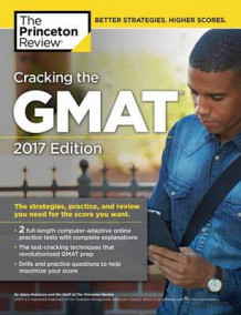 Cracking The Gmat With 2 Computer-Adaptive Practice Tests, 2017 Edition av Princeton Review (Heftet)