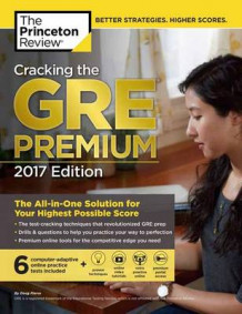 Cracking The Gre Premium Edition With 6 Practice Tests, 2017 av Princeton Review (Heftet)