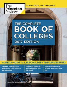 Complete Book of Colleges: 2017 Edition av Princeton Review (Heftet)