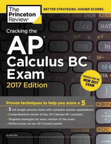 Cracking the AP Calculus BC Exam: 2017 Edition av Princeton Review (Heftet)