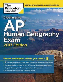 Cracking the AP Human Geography Exam: 2017 Edition av Princeton Review (Heftet)