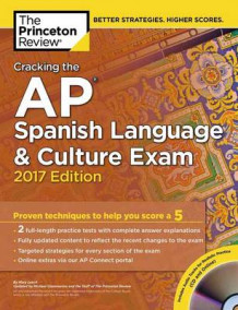 Cracking the AP Spanish Language and Culture Exam with Audio CD: 2017 Edition av Princeton Review (Heftet)
