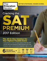 Omslag - Cracking the SAT Premium Edition with 6 Practice Tests, 2017