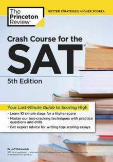Crash Course for the SAT av Princeton Review (Heftet)