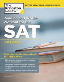 Reading and Writing Workout for the SAT av Princeton Review (Heftet)