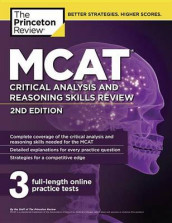 MCAT Critical Analysis and Reasoning Skills Review, 2nd Edition av The Princeton Review (Heftet)