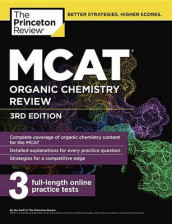 MCAT Organic Chemistry Review, 3rd Edition av The Princeton Review (Heftet)