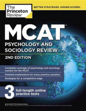MCAT Psychology and Sociology Review, 2nd Edition av The Princeton Review (Heftet)