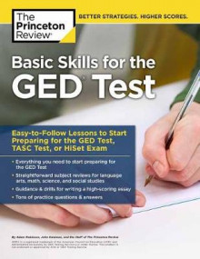 Basic Skills for the Ged Test av Princeton Review (Heftet)