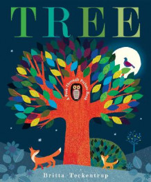 Tree: A Peek-Through Picture Book av Britta Teckentrup (Innbundet)