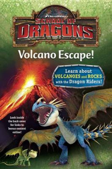 School of Dragons #1: Volcano Escape! (DreamWorks Dragons) av Kathleen Weidner Zoehfeld (Innbundet)