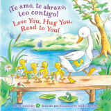 Omslag - Te Amo, Te Abrazo, Leo Contigo!/Love You, Hug You, Read to You!