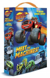 Omslag - Meet the Machines! (Blaze and the Monster Machines)