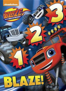 1 2 3 Blaze! (Blaze and the Monster Machines) av Random House (Pappbok)