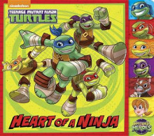 Heart of a Ninja (Teenage Mutant Ninja Turtles) av Random House (Pappbok)