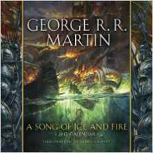 Song of Ice and Fire 2017 Calendar (Kalender)