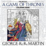 Omslag - The official a Game of Thrones colouring book