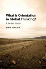 Omslag - What is Orientation in Global Thinking?